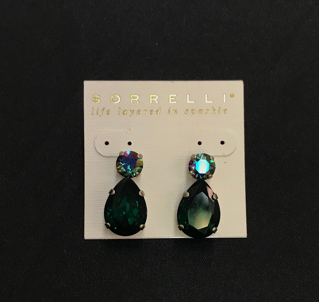 """Emerald City"" Earrings"