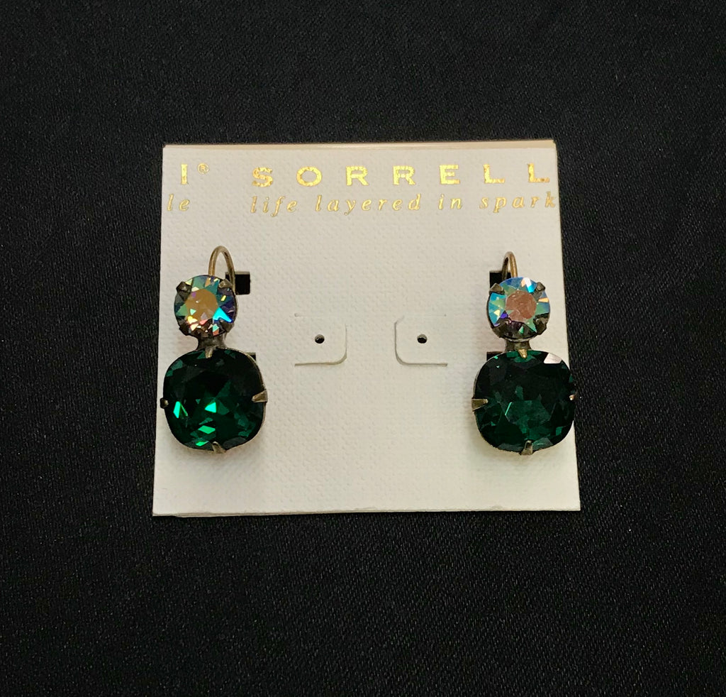"""Emerald Essentials"" Earrings"