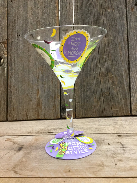 """PMS"" Martini Glass"