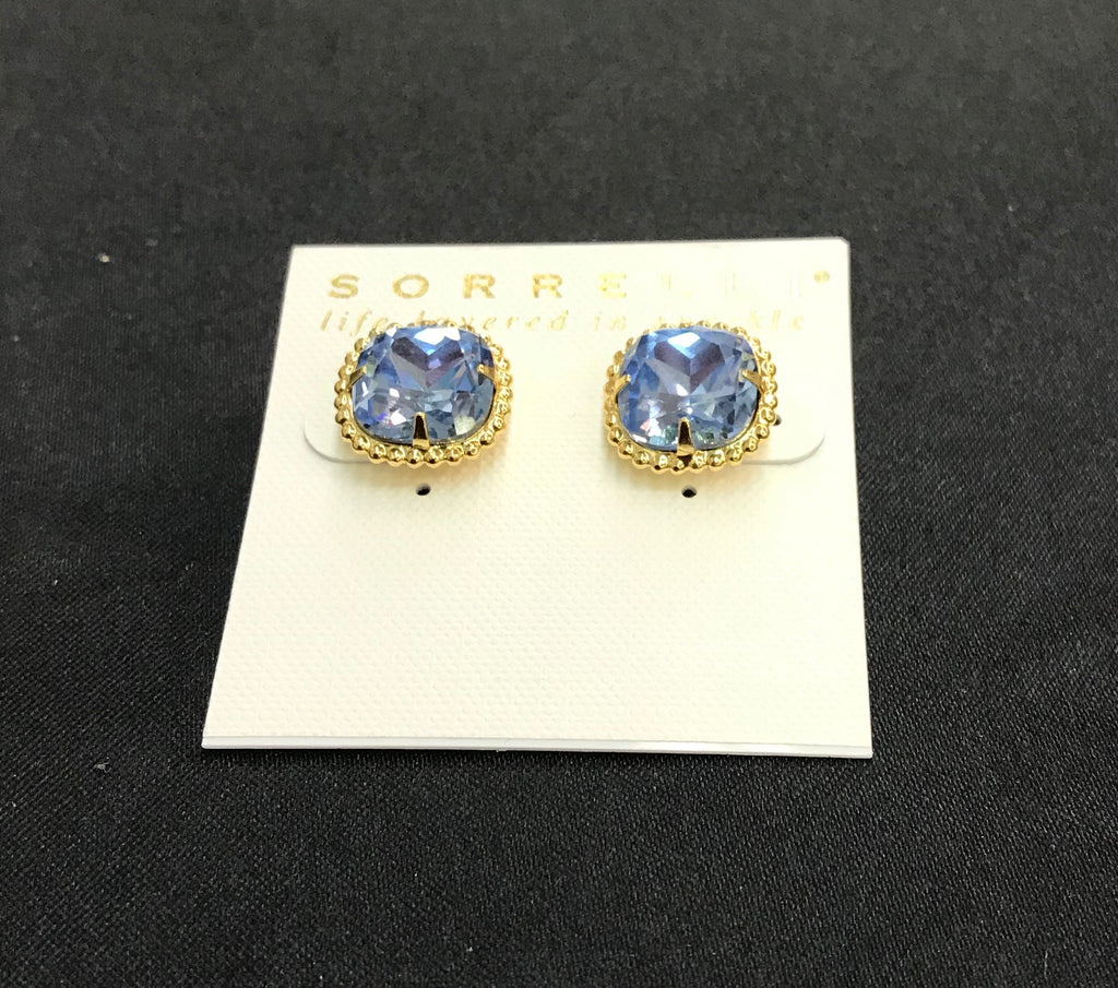"""Light Sapphire"" Earrings"