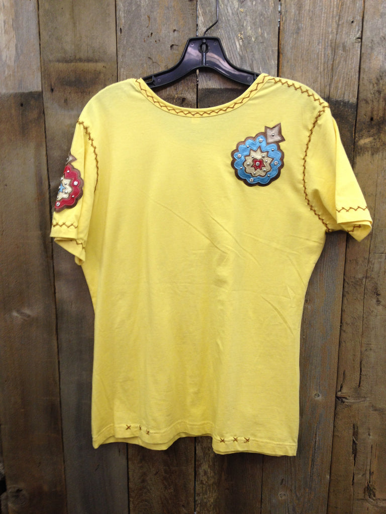 SH-014 Flower Yellow T-Shirt