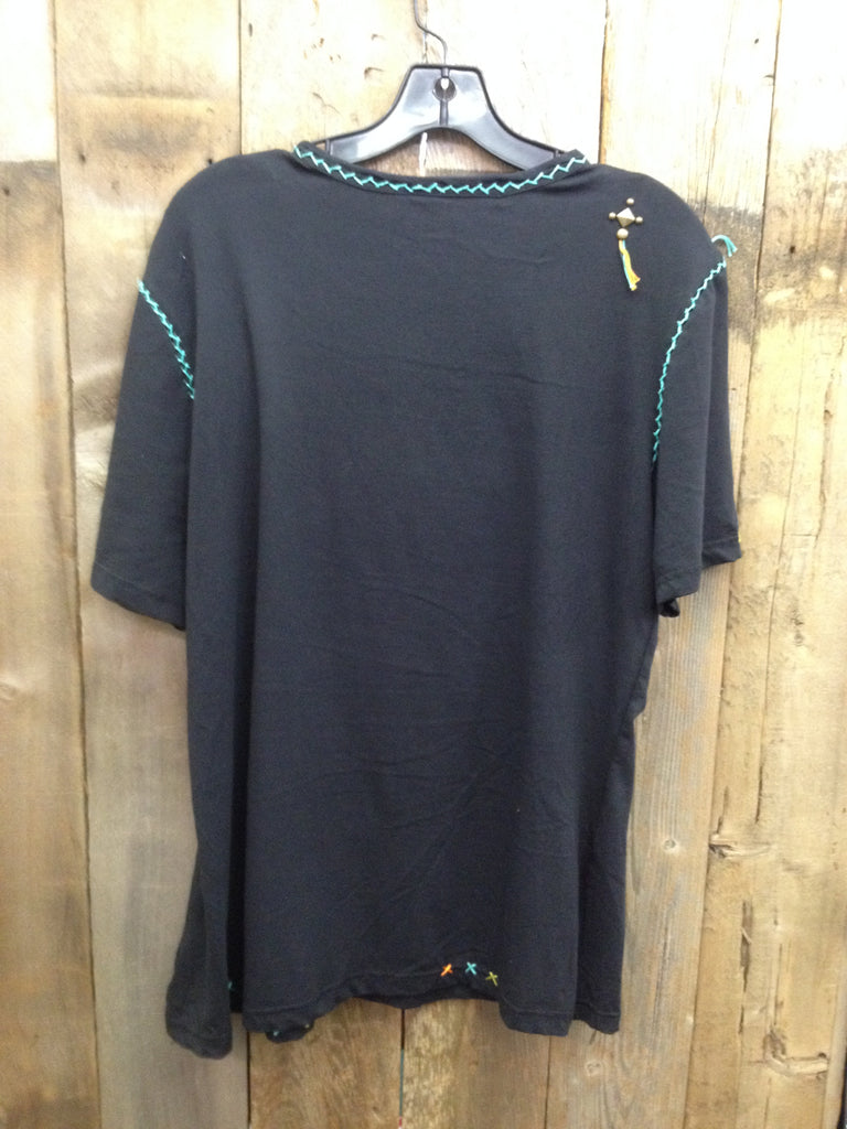 SH-109 Aztec Black T-Shirt