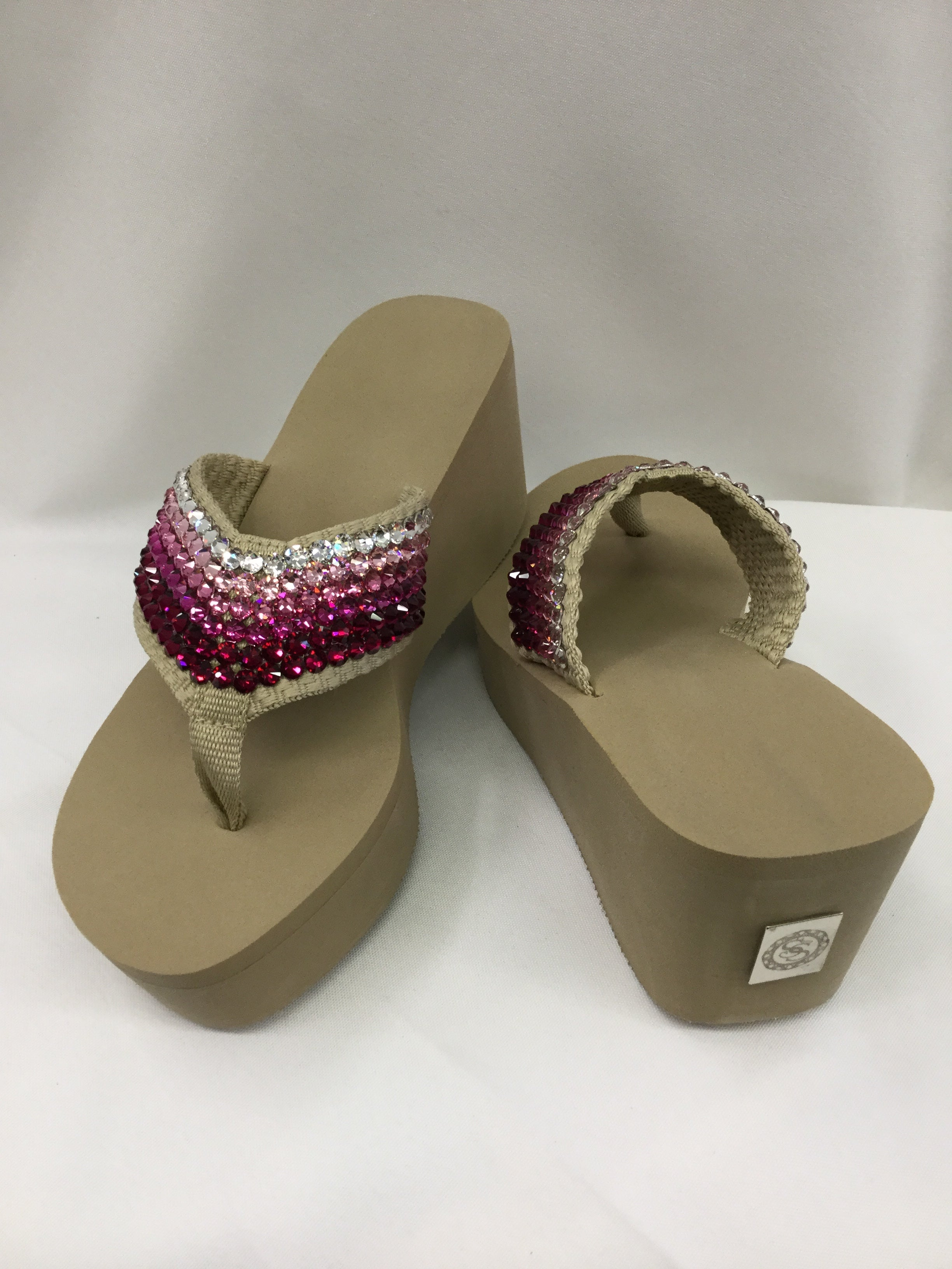 8e4646e89720 Miss Tified Ombre Pink Flip Flops - Forever Treasures Boutique