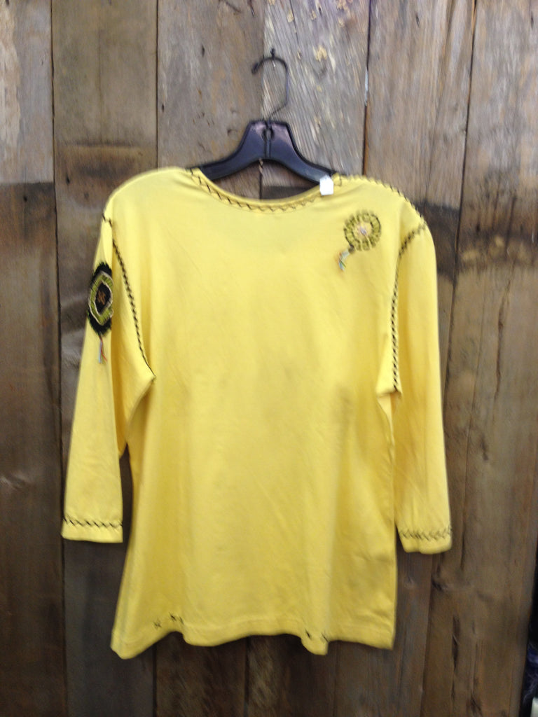 SH-045 Motorcycle Yellow T-Shirt