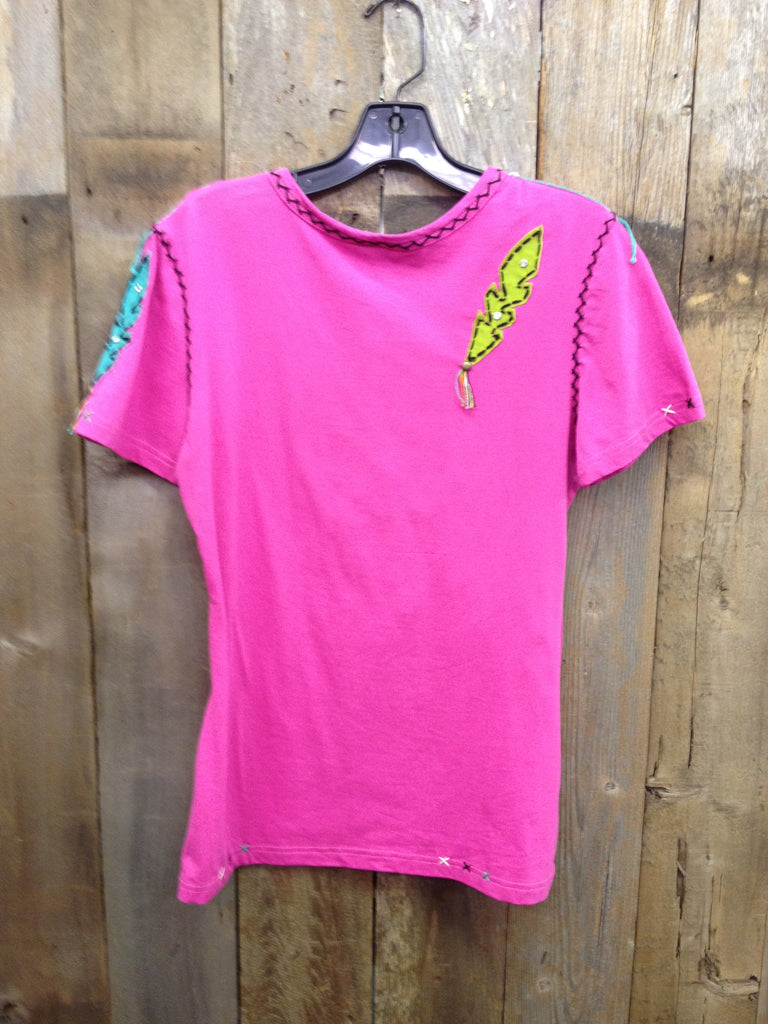 SH-093 Dream Catcher Hot Pink T-Shirt