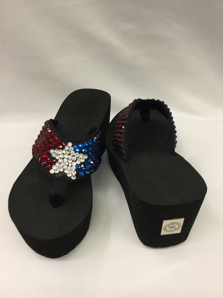 Miss Vegas Miss Texas Flip Flops