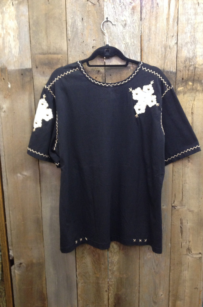 Cross Black T-Shirt