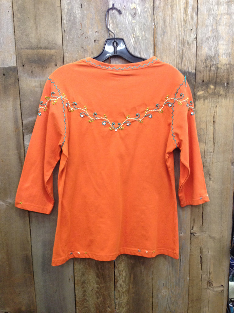 SH-091 Cross Orange T-Shirt