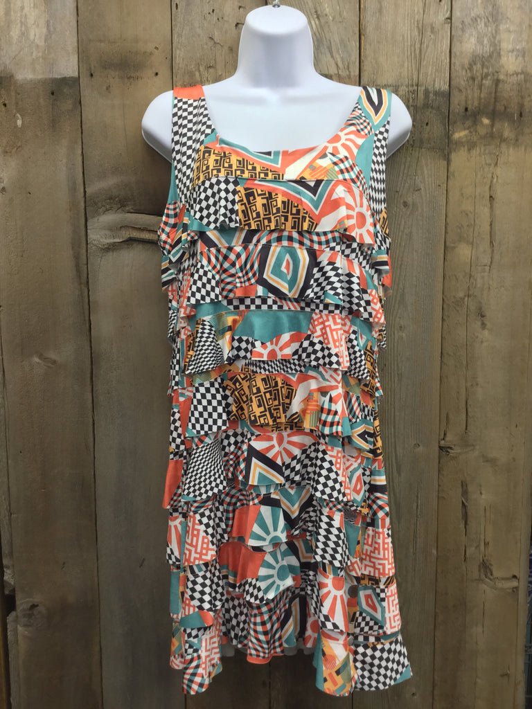 Orange Mod Crush Dress