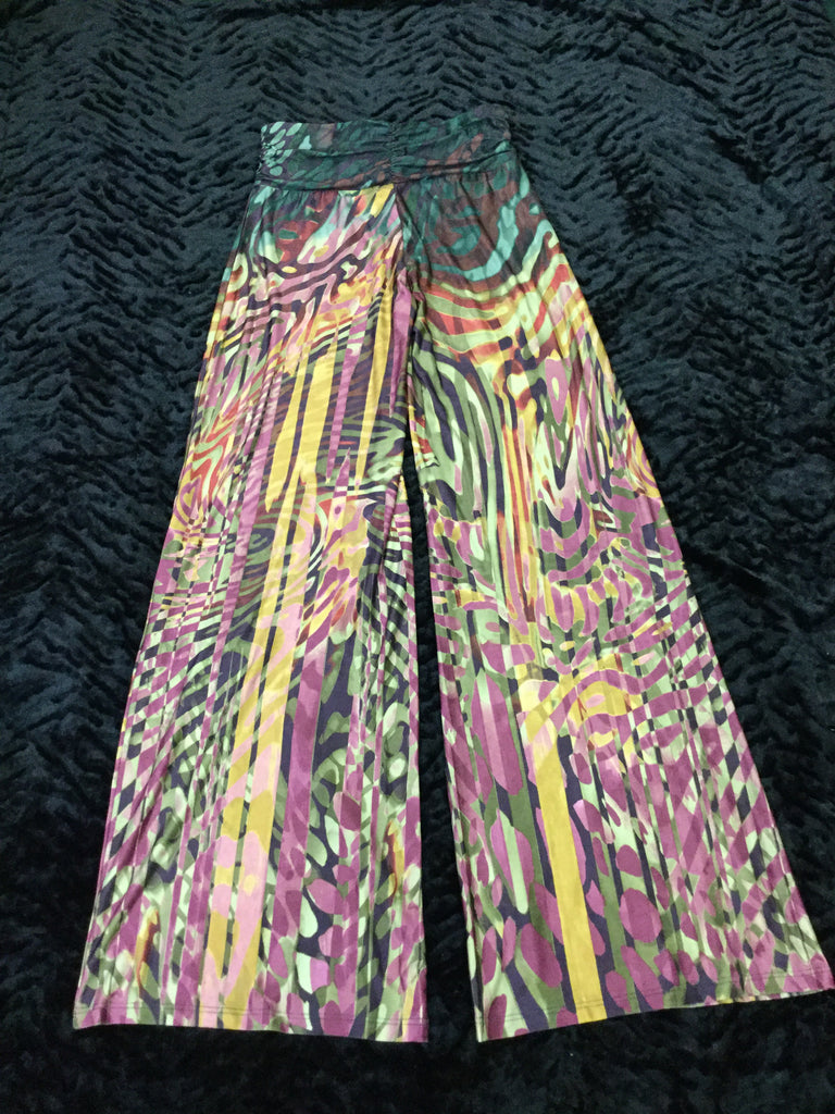 Autumn Leaves Palazzo Pant