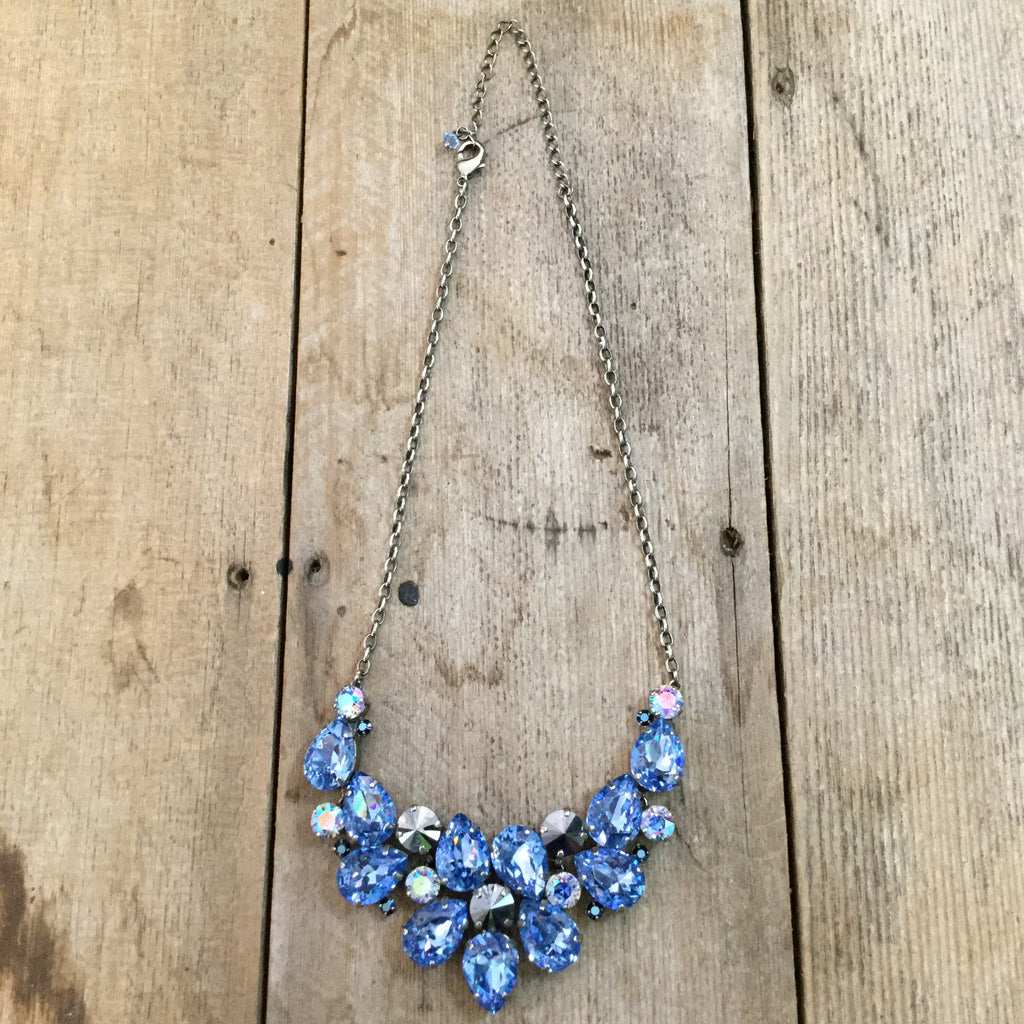 """Ice Blue"" Necklace"