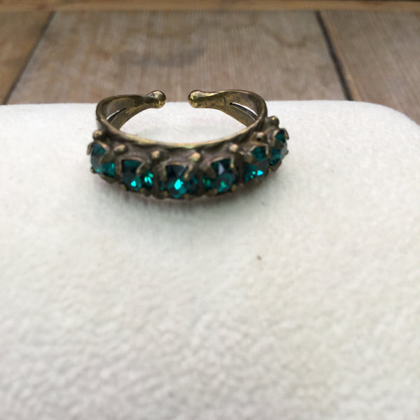 SL685 Wild Fern Ring
