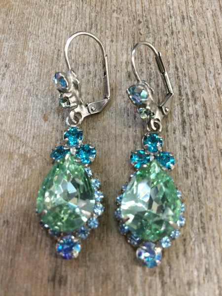 """Sea Glass"" Earrings"
