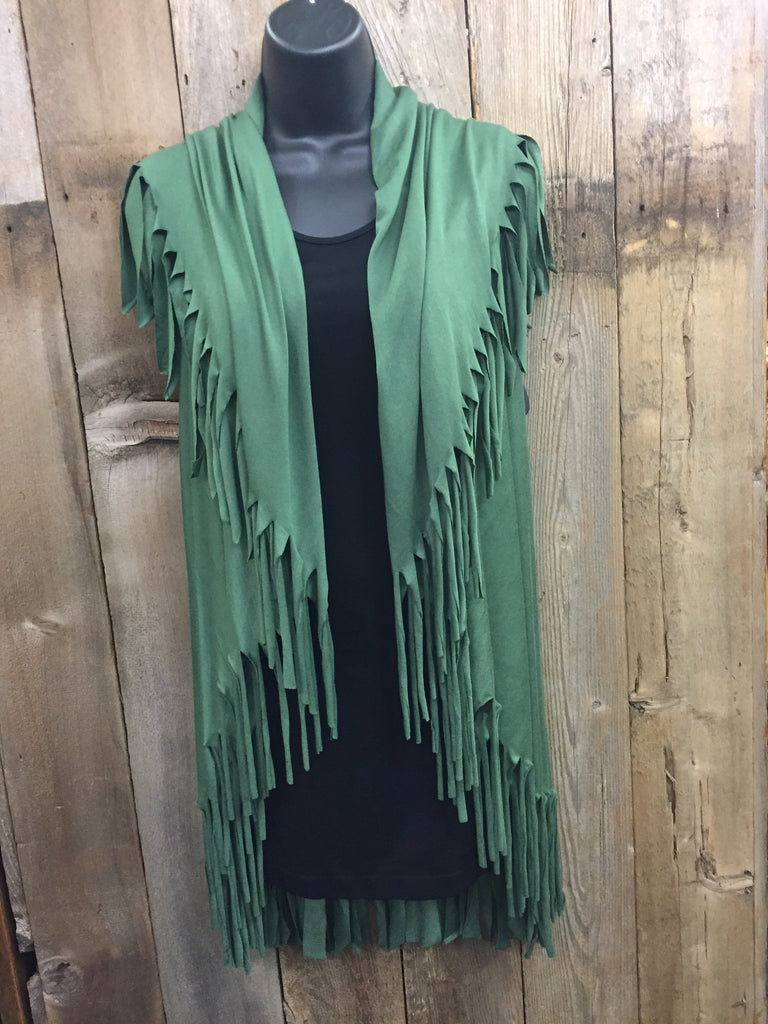 Fringe Cut Shawl - More Colors