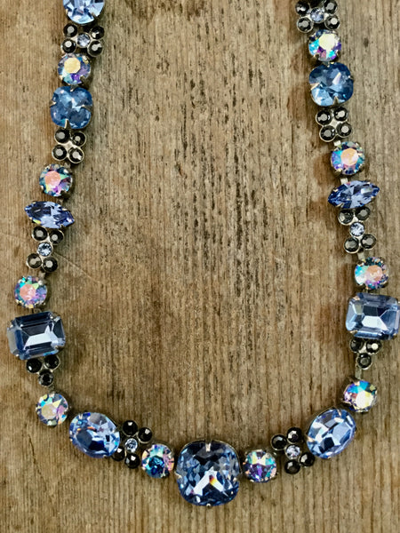 SL729 Ice Blue Necklace