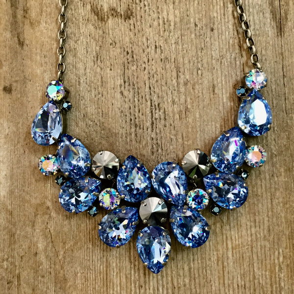SL733 Ice Blue Necklace