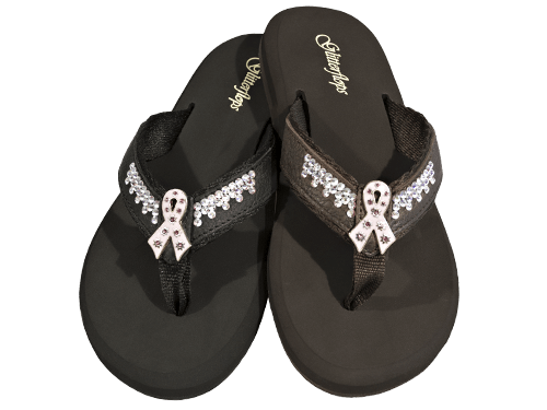 Pink Ribbon 2nd Series Flip Flops