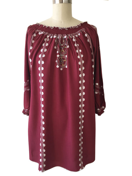 Maroon Texas A&M Tunic/Top