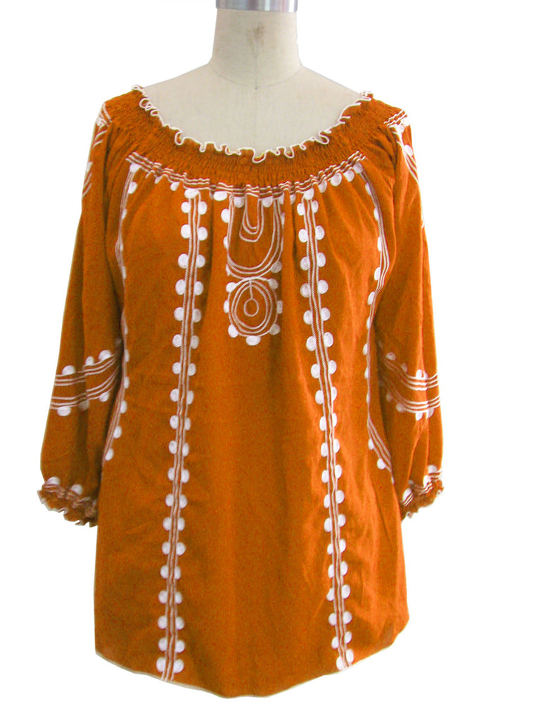 Orange UT Tunic