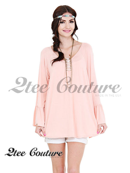 Destiny Blush Top
