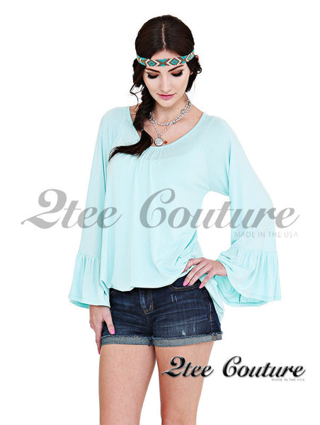 Destiny Mint Top