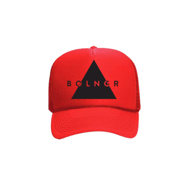 BOLNGR Trucker Hat - Red