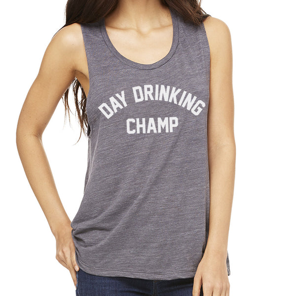 Day Drinking Champ Muscle Tank