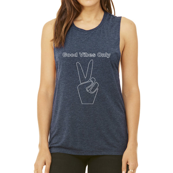 Good Vibes Only Muscle Tank