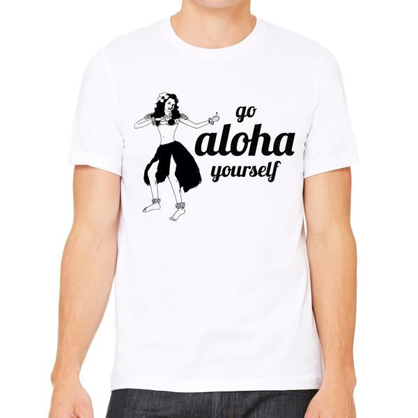 Go Aloha Yourself Shirt Green