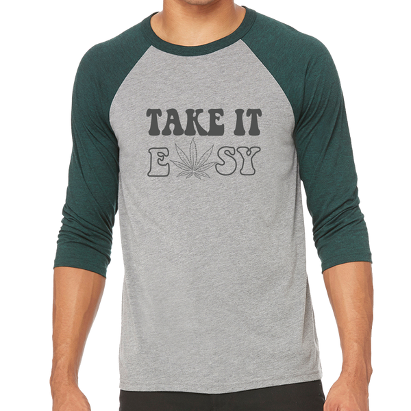 Take It Easy Unisex Baseball Tee