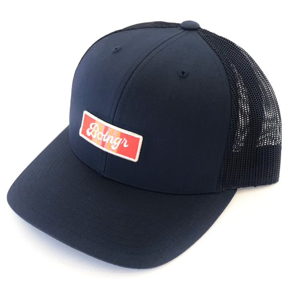 Retro Patch Mesh Snapback