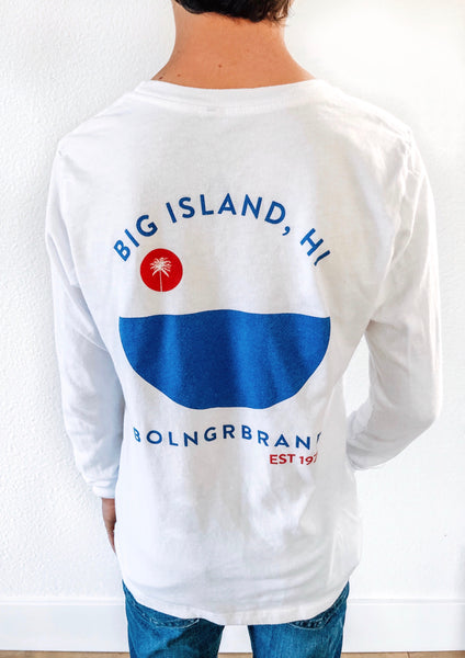 Kids Big Island Established Long Sleeve