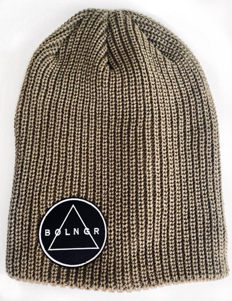 Patch Slouch Beanie