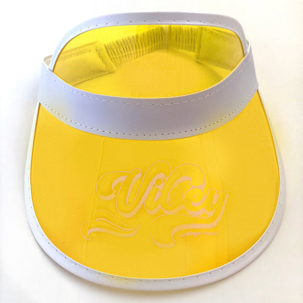 Vibey Retro Colored Sun Visor