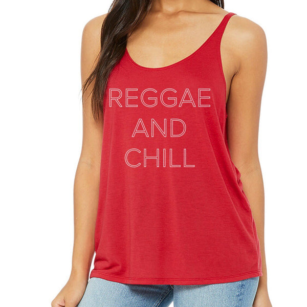 Reggae and Chill Tank - Red