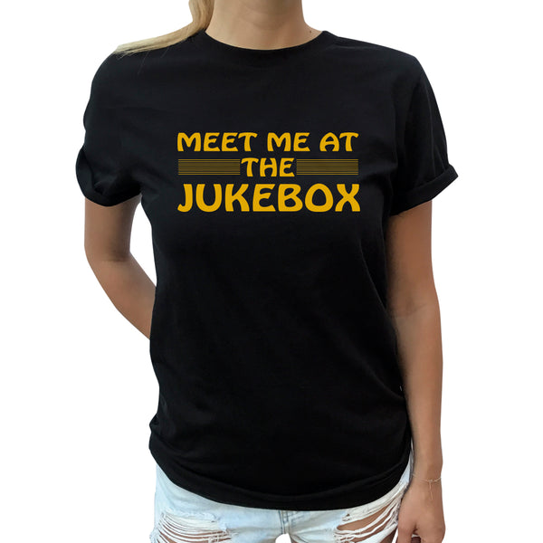 Jukebox Rolled Sleeve Tee