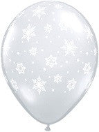 Balloons Round<br>Snowflakes Around