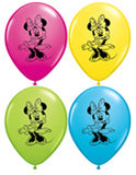 "Balloons - Round<br>5"" Minnie Mouse"