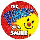 STICKERS AA028   The Healing Power of a Smile