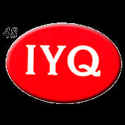STICKERS BB0048  IYQ (oval)