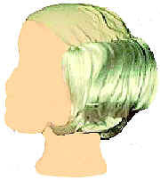 WIG<BR>BALD TRAMP SHORT