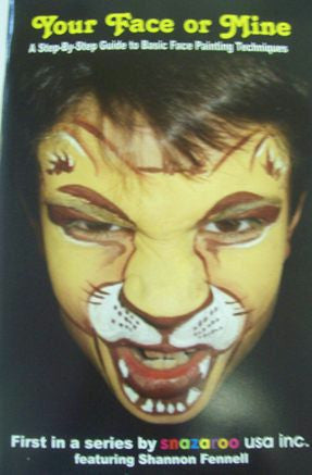 Books Facepainting<br>Your Face or Mine