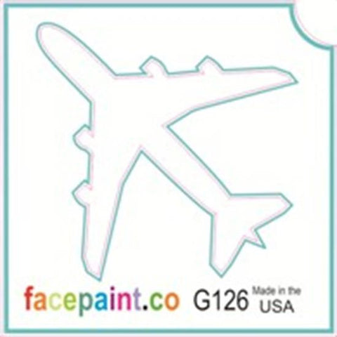Tattoo Stencils 10 Pack <br> G126 - Airplane