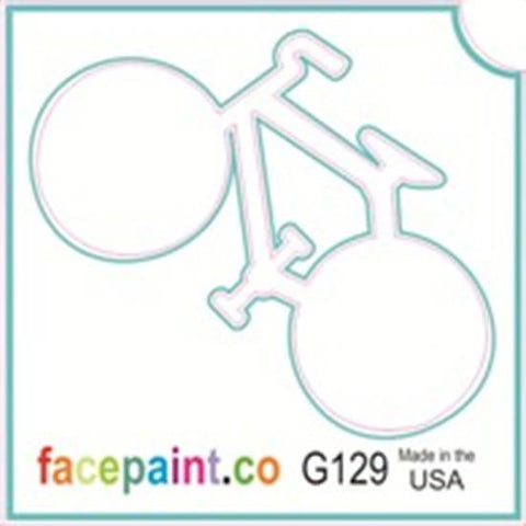 Tattoo Stencils 10 Pack <br> G129 -Bicycle