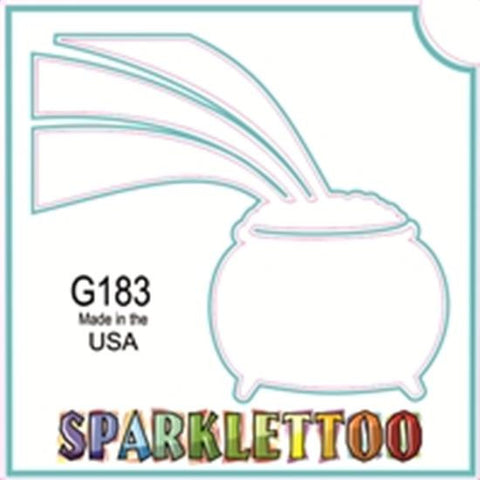 Tattoo Stencils 10 Pack <br> G183 - Rainbow Gold