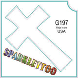 Tattoo Stencils 10 Pack <br> G197 - Cross