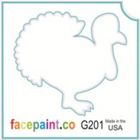 Tattoo Stencils 10 Pack <br>G201 Tom Turkey