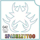 Tattoo Stencils 10 Pack<br>G042 - Tribal Star2