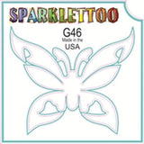 Tattoo Stencils 10 Pack<br>G018 - Ribbon