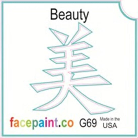 Tattoo Stencils 10 Pack <br>G069 - Beauty